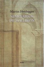 seminarios de zollikon martin heidegger 9788425432613