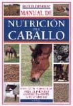 manual de la nutricion del caballo-ruth bishop-9788428213813