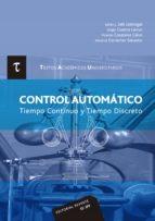 control automatico: tiempo continuo y tiempo discreto 9788429147513