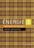 energie 3 cahier d exercicis (incluye cd rom) 9788429498813