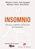 insomnio: una guia cognitivo-conductual de tratamiento-michael perlis-9788433023513