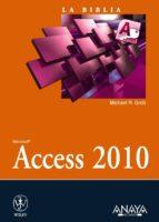 access 2010 (la biblia)-michael groh-9788441528413