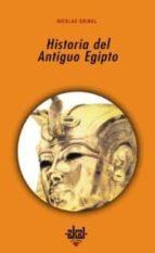 historia del antiguo egipto nicolas grimal 9788446006213