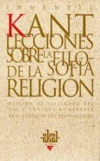 lecciones sobre la filosofia de la religion immanuel kant 9788446014713