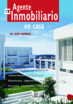 el agente inmobiliario en casa-mª jose jimenez-9788466208413