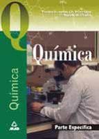 acceso a la universidad para mayores de 25 años: quimica. prueba especifica-9788466517713