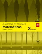 cuaderno matemáticas 1º trimestre savia 3º educacion primaria ed 2014  castellano 9788467570113
