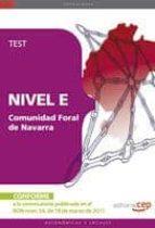 COMUNIDAD FORAL DE NAVARRA NIVEL E. TEST