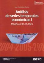 analisis de series temporales economicas i: modelos estructurales-jose hernandez alonso-9788473565813