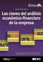 las claves del analisis economico financiero de la empresa 2ª ed. incluye cd jose de jaime eslava 9788473567213