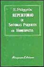 repertorio de sintomas psiquicos en homeopatia-ernesto puiggros-9788478130313