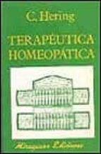 Descargas gratuitas de libros populares Terapeutica homeopatica