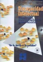 discapacidad intelectual: desarrollo, comunicacion e intervencion juan perez cobacho 9788478694013