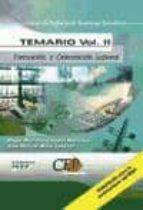 cuerpo de profesores de enseñanza secundaria: formacion y orienta cion laboral (fol): temario (vol. ii)-angel mariano campal martinez-jose manuel muro jimenez-9788482999913