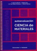 El libro de Autoevaluaci�n ciencia de materiales autor DESCONOCIDO TXT!