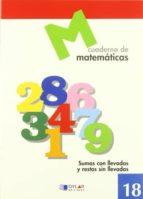 cuaderno de matematicas, n. 18-9788489655713
