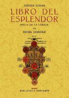 zepher zohar: libro del esplendor (biblia de la cabala) (ed. facs imil) rafael comenge 9788490010013