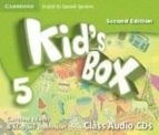 kid s box 5 for spanish speakers class audio cds 2nd edition 9788490364413