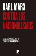 contra los nacionalismos-karl marx-9788490973813