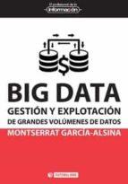 big data: gestion y explotacion de grandes volumenes de datos montserrat garcía alsina 9788491162513