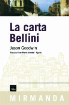 la carta bellini-jason goodwin-9788492440313