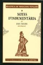 Notes d indumentaria por Joan amades EPUB MOBI