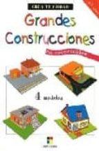 grandes construcciones: crea tu ciudad en recortables 9788497365413