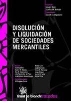 DISOLUCIÓN Y LIQUIDACIÓN DE SOCIEDADES MERCANTILES (EBOOK)