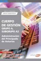 cuerpo de gestion grupo a, subgrupo a2, de la administracion del principado de asturias. vol. ii. temario derecho administrativo-9788499372013
