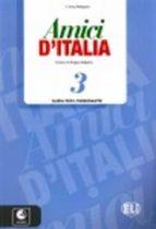 amici di italia 3   guia + cds 9788853615213