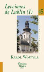 Lecciones de Lublin (I) (Biblioteca Palabra)