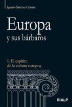 EUROPA Y SUS BARBAROS