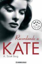 Recordando a Kate (BEST SELLER)
