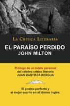 El Paraiso Perdido (COLECCION LA CRITICA LITERARIA)