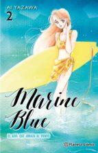 Marine Blue nº 02/04: El azul que abraza al viento