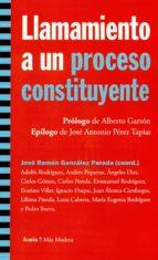 LLAMAMIENTO A UN PROCESO CONSTITUYEN (Más Madera)