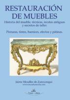 RESTAURACIÓN BÁSICA DE MUEBLES Y NOCIONES DE PINTURA DECORATIVA (EBOOK)