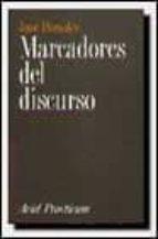 MARCADORES DEL DISCURSO