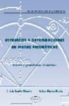 ESFUERZOS Y DEFORMACIONES EN PIEZAS PRISMATICAS: TEORIA Y PROBLEM AS RESUELTOS (RESISTENCIA DE MATERIALES)
