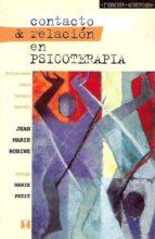 CONTACTO&RELACIÓN EN PSICOTERAPIA (EBOOK)