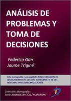ANÁLISIS DE PROBLEMAS Y TOMA DE DECISIONES (EBOOK)