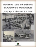 Machines, Tools And Methods Of Automobile Manufacture (History Of The Automobile)