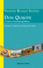 DON QUIJOTE (GUIÓN CINEMATOGRÁFICO) (Biblioteca Blasco Ibáñez)