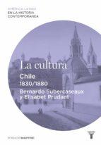 La cultura. Chile (1830-1880)