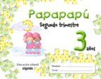 PAPAPAPU 3 AÑOS: 2º TRIMESTRE (EDUCACION INFANTIL)