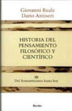 HISTORIA DEL PENSAMIENTO FILOSOFICO Y CIENTIFICO (T. III)