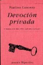 Devoción privada (Poesía Hiperión)