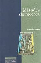 METODES DE RECERCA