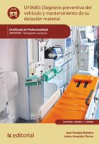 Diagnosis Preventiva Del Vehículo Y Mantenimiento De Su Dotación Material