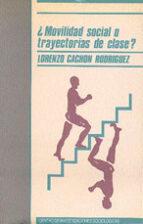 ¿MOVILIDAD SOCIAL O TRAYECTORIAS DE CLASE?: ELEMENTOS PARA UNA CR ITICA DE LA SOCIOLOGIA DE LA MOVILIDAD SOCIAL